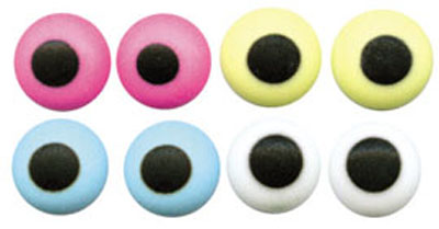 Cake Decorating Edible Eyes : TBK 1/4 in. Candy Eyes Assorted Colors - 1000 Count Pack